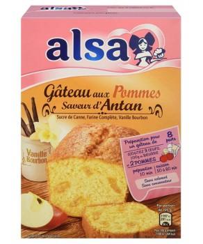 Gâteau aux pommes Saveur d'Antan Alsa