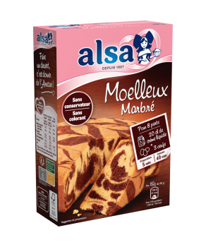 Moelleux marbré Alsa