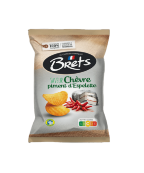 Chips Bret's Chèvre Piment d'Espelette