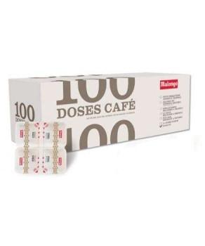 Café Ristretto Malongo 100 doses