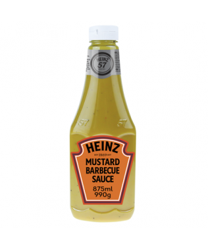 Sauce Mustard Barbecue Heinz