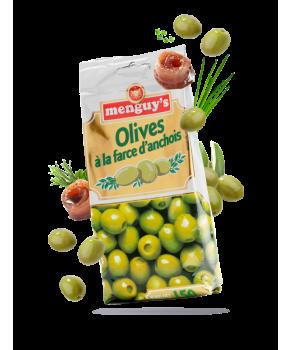 Olives à la farce d'anchois...