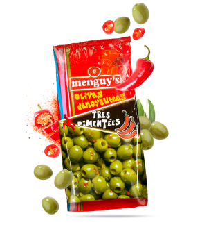 Olives dénoyautées...