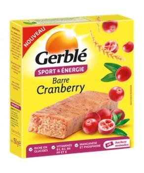 Barre Cranberry Gerblé