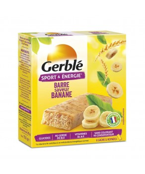 Barre Banane Gerblé