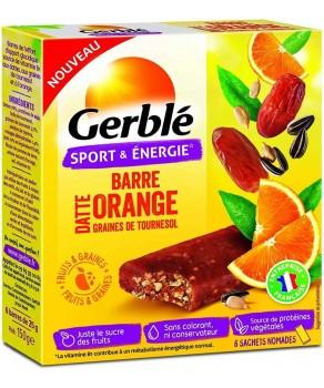 Barres à l'orange Gerblé