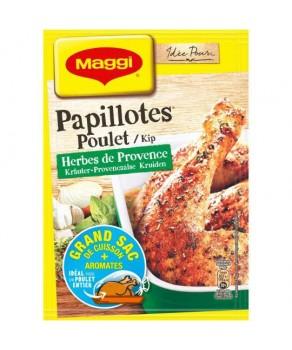 Papillotes Poulet Herbes de...