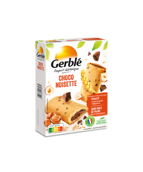 Biscuits Choco Noisette Gerblé