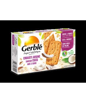 Biscuits Crousti Avoine Saveur Coco Gerblé