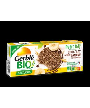Biscuits Chocolat Saveur Banane Gerblé