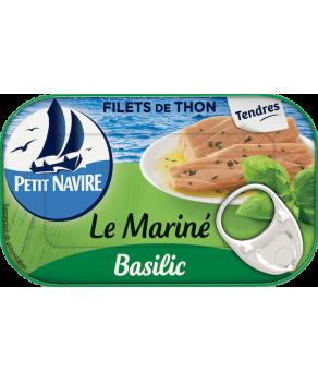 Filets de thon au basilic...