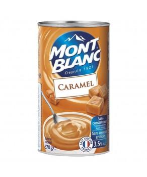 Crème au Caramel Mont blanc
