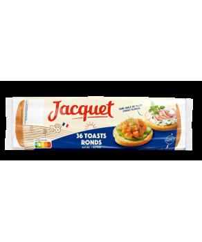36 Toasts Ronds Nature Jacquet