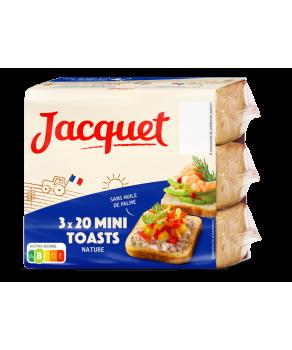 Mini Toasts nature Jacquet