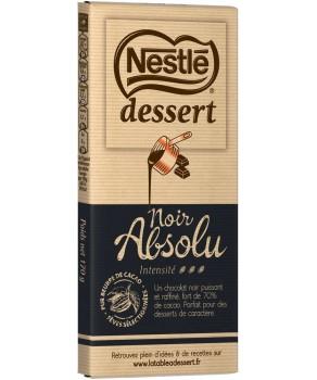 Chocolat noir absolu Nestlé Dessert