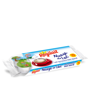 Nuage de lait Régilait