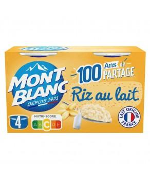 Riz au lait Mont Blanc