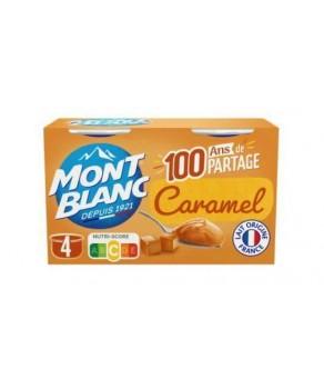 Crème dessert caramel Mont...