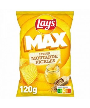 Chips Lay's max moutarde pickles