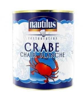 Crabe chair blanche Nautilus