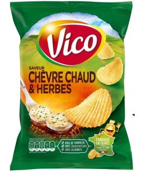 Chips saveur chèvre chaud...