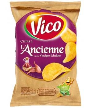 Chips Vinaigre Echalote 125gr