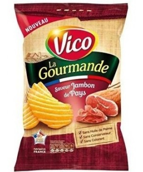 Chips Vico saveur jambon de pays