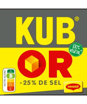 Kub Or -25 % de sel