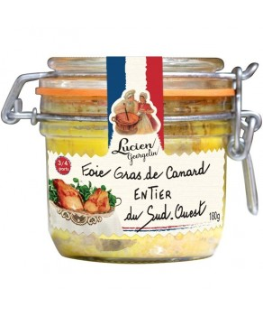 Foie gras de canard entier Lucien Georgelin