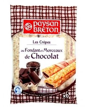 Crêpes Fondante et Chocolat