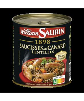 Saucisses au Canard...