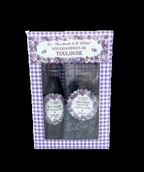 Coffret Crème de violette...