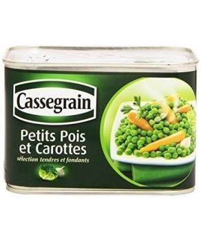 Petits pois et Carottes Cassegrain