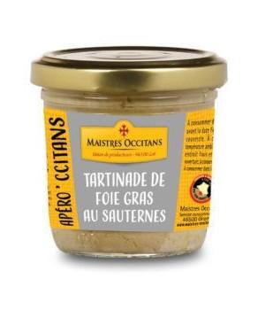 Tartinade de foie gras au...