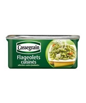 Flageolets cuisinés Cassegrain