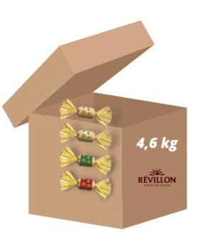 Carton Papillotes Chocolat...