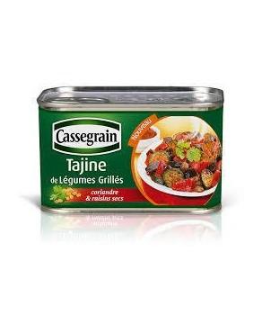 Légumes grillés façon Tajine Cassegrain