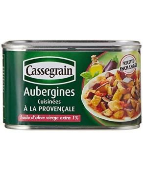 Aubergines cuisinées à la provençale